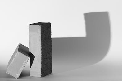 Objekt mit markanter Struktur