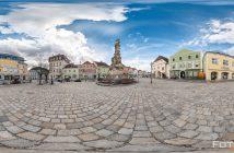 360 Grad Panorama Dreifaltigkeitsplatz Zwettl