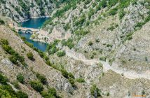 Fotonomaden Landschaft Abruzzen Schlucht, Italien