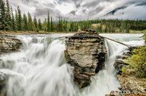Fotonomaden Landschaft Kanada Athabasca Falls