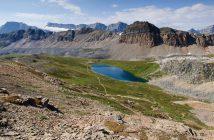 Fotonomaden Landschaft Helen Lake, Kanada