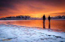 Fotonomaden Rudmannser Teich Sonnenaufgang