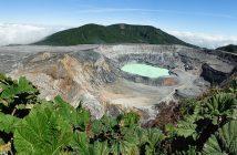 Fotonomaden Landschaft Vulkan Poas, Costa Rica