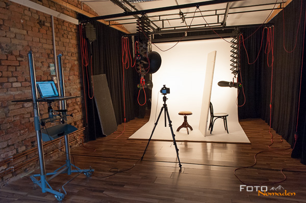 Studio Aufbau Wollshooting