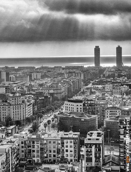 Testfoto Barcelona Olympus OM-D E-M10