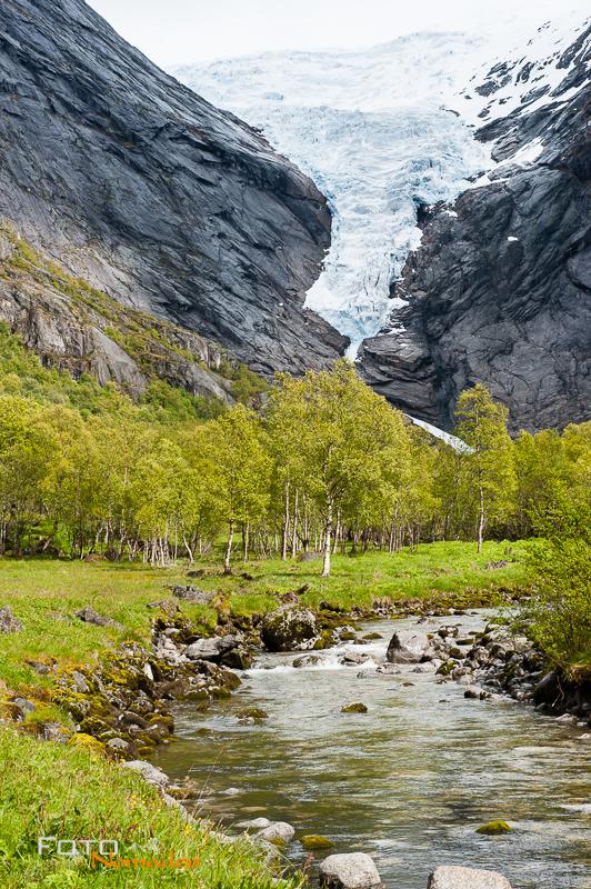 Fotonomaden Fotoreise nach Norwegen Briksdalsbreen