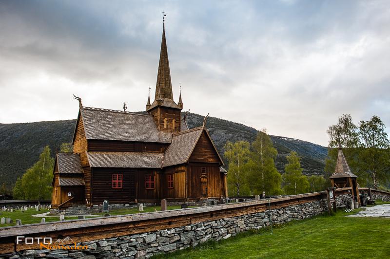 Fotonomaden Fotoreise nach Norwegen Kirche
