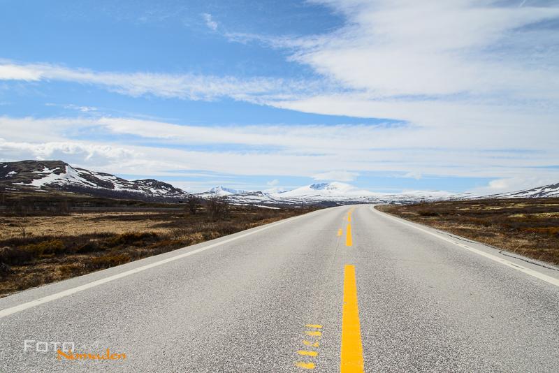 Fotonomaden Fotoreise nach Norwegen Straße