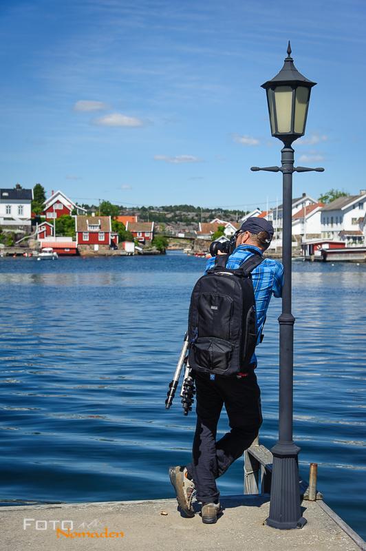 Fotonomaden nach Norwegen Fotorucksack Markus