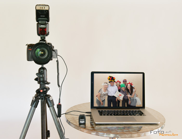 einfachen photo booth selber bauen. Black Bedroom Furniture Sets. Home Design Ideas