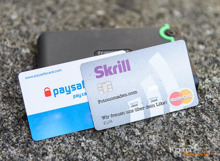 Prepaid Kreditkarten mindern das Risiko