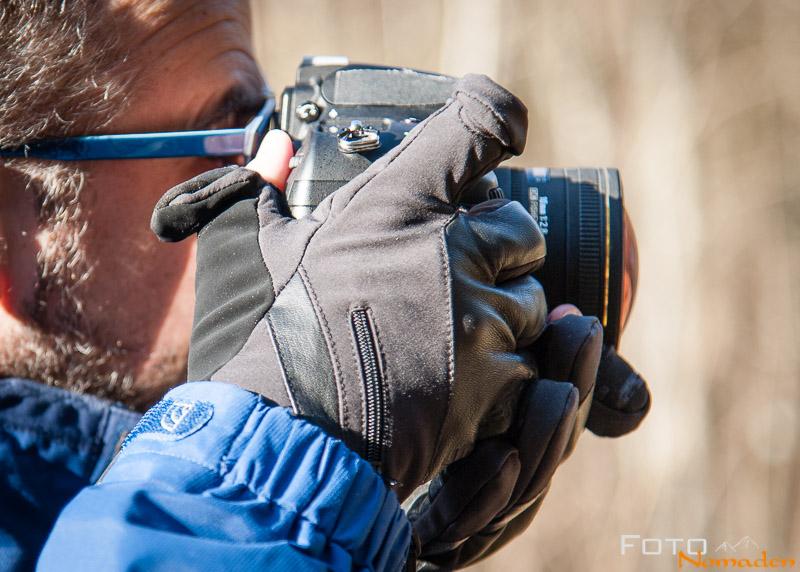 Foto Handschuhe Test - Markhof Pro Model