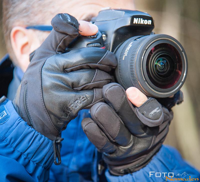 Fotonomaden-Fotohandschuhe
