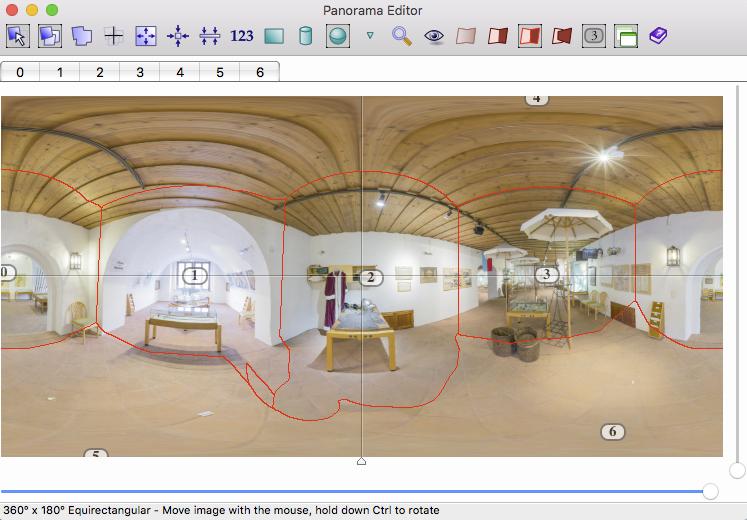 mit ptGui Panorama Software Bildüberlappungen prüfen