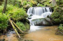 Fotonomaden Langzeitbelichtung Lohnbachfall Waldviertel