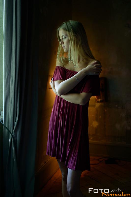 Fotonomaden Portraet Farbe Bokeh Workshop