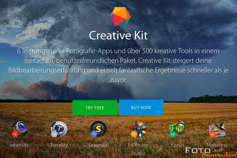 Creative Kit von Macphun