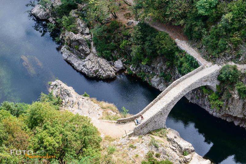 Ardèche Reiseroute Fotonomaden Pont du diable