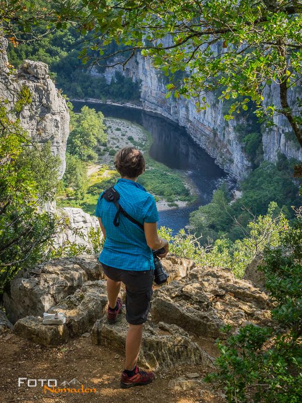 Ardèche Reiseroute Fotonomaden Gorges du Chassezac