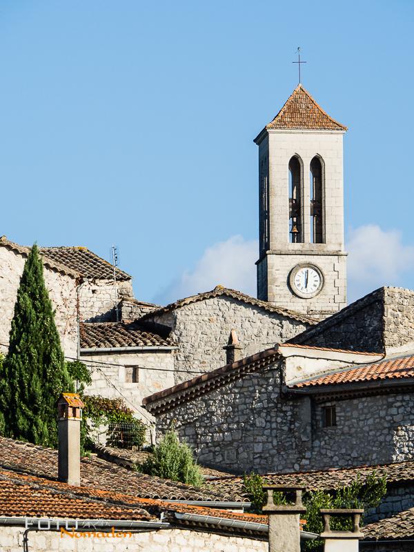 Ardèche Reiseroute Fotonomaden Vogüé