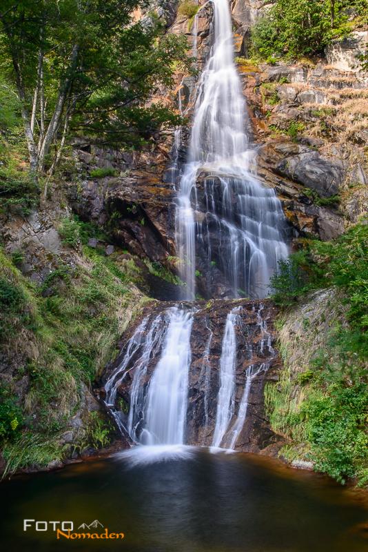 Ardèche Reiseroute Fotonomaden Wasserfall