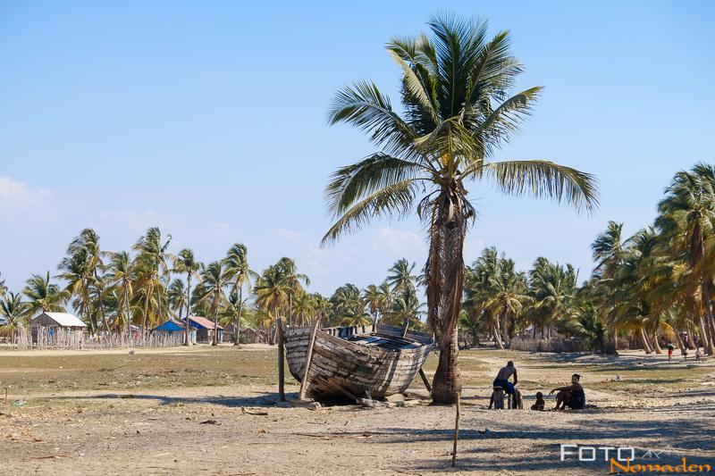 Madagaskar Reiseroute Fotonomaden Fischerdorf Morondava