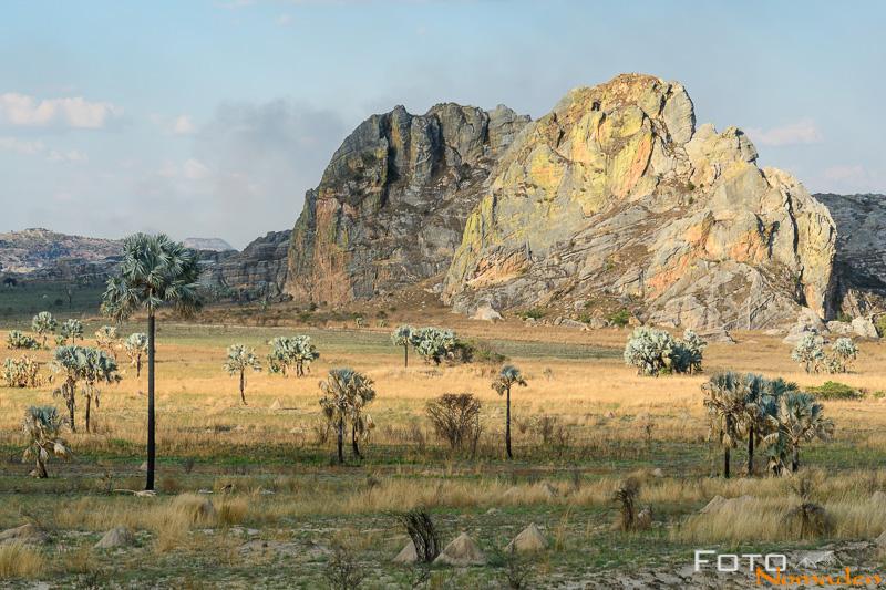 Madagaskar Reiseroute Fotonomaden Isalo Gebirge