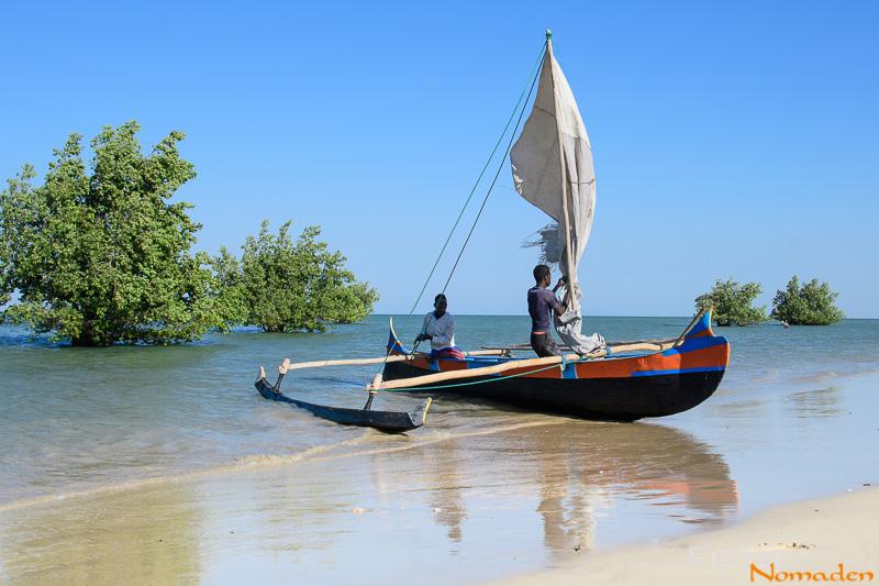 Madagaskar Reiseroute Fotonomaden Piroge