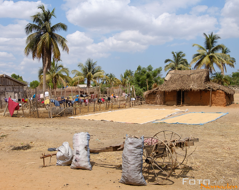 Madagaskar Reiseroute Fotonomaden traditionelles Dorf