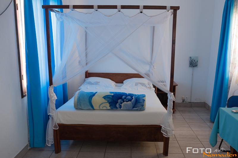 Madagaskar Reiseroute Fotonomaden Zimmer in Morondava