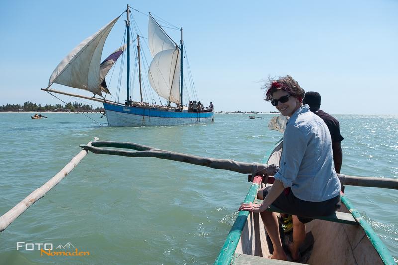 Madagaskar Reiseroute Fotonomaden Pirogenfahrt