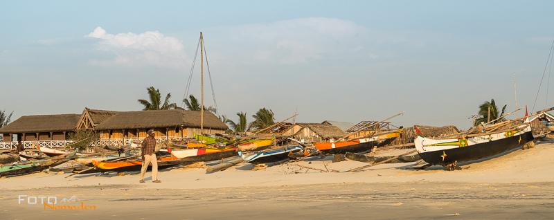 Madagaskar Reiseroute Fotonomaden Fischerboote