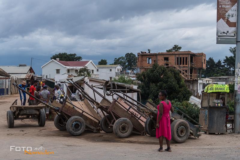 Madagaskar Reiseroute Fotonomaden Handkarren