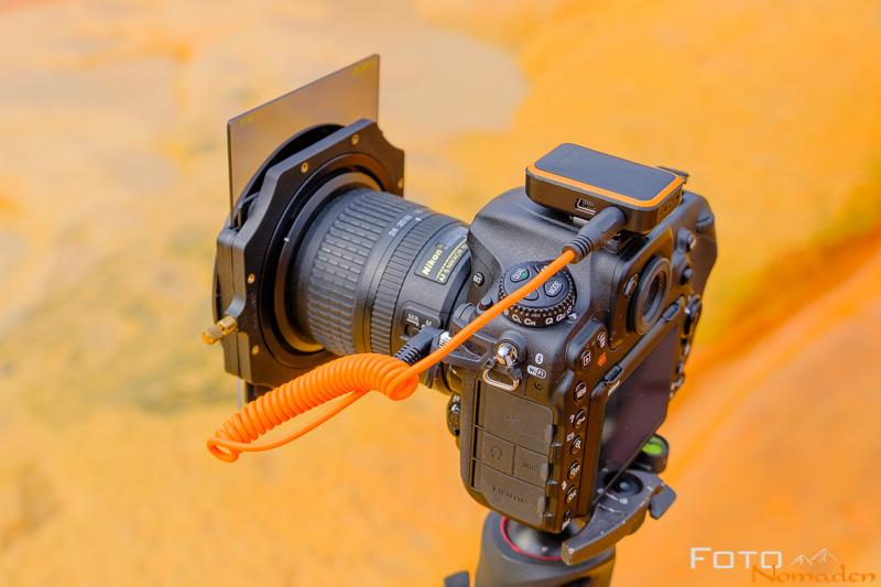 Miops Mobile Remote auf der Nikon D500
