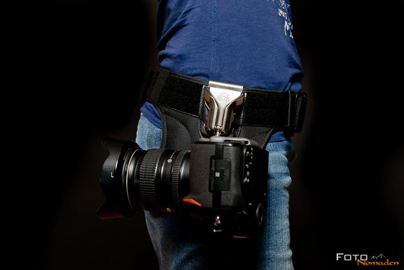 Spider Pro SCS Kamera Holster Test