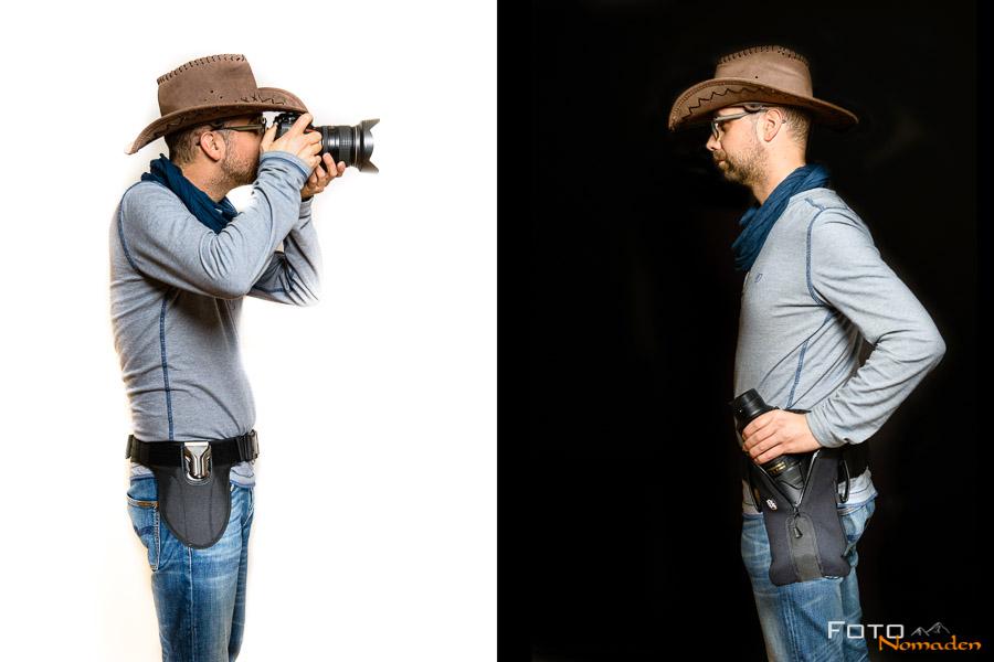 Spider Pro SCS Kamera Holster im Cowboy-Test