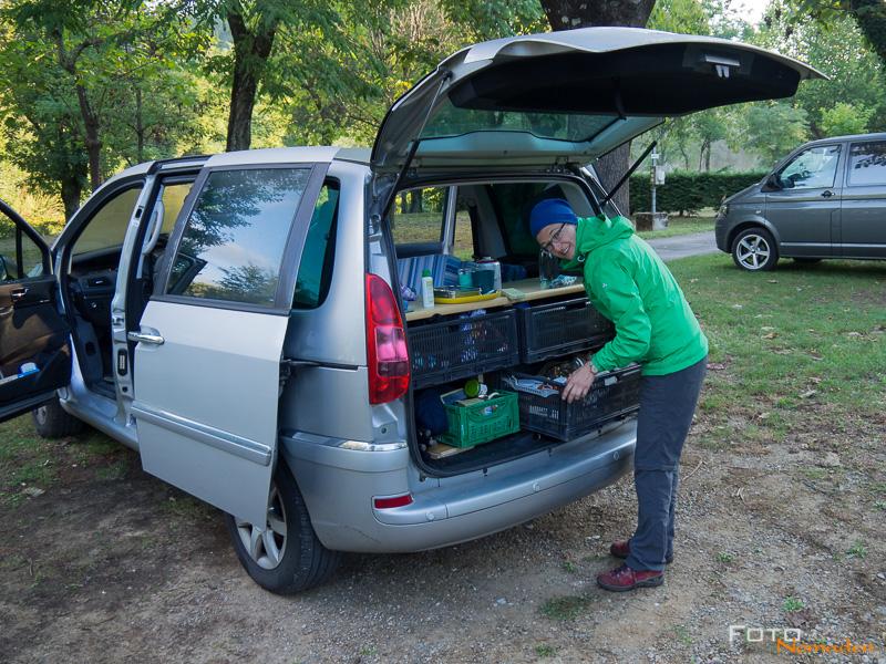 Fotonomaden Ardèche Reiseroute Campingmobil