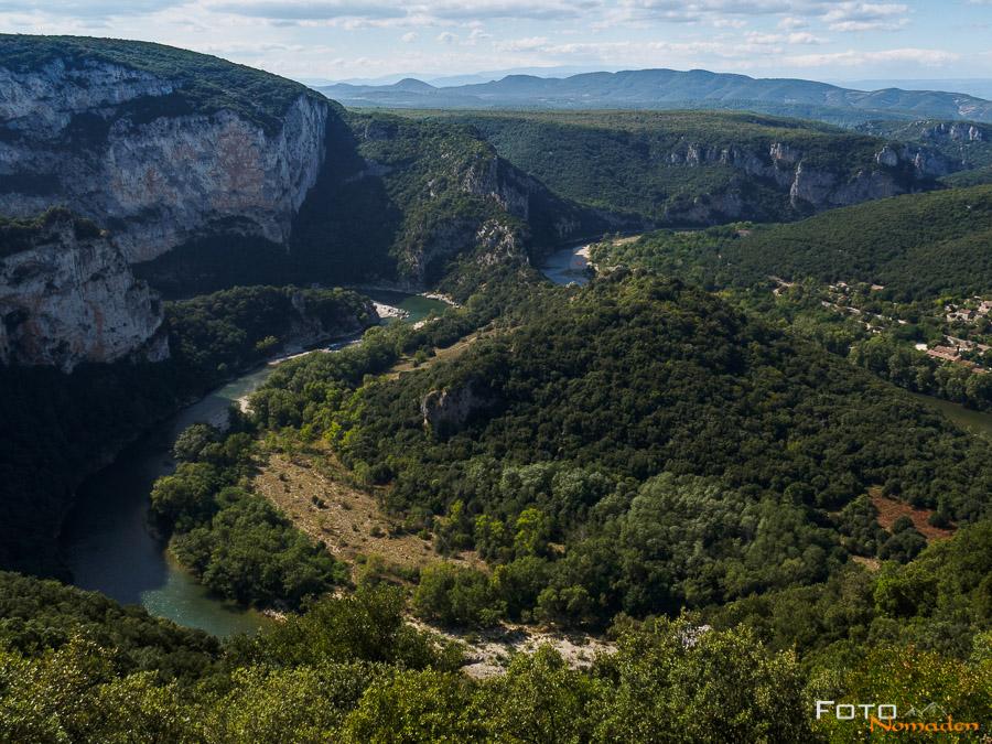 Fotonomaden Ardèche Reiseroute Gorge de l'Ardèche