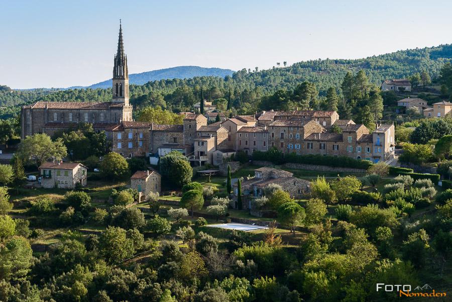 Fotonomaden Ardèche Reiseroute Banne