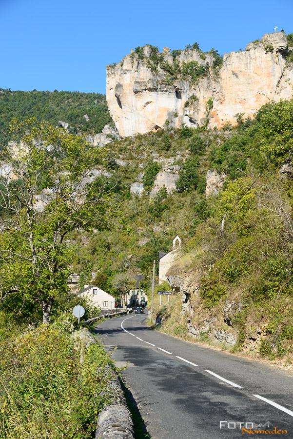 Fotonomaden Ardèche Reiseroute Gorges de la Jonte