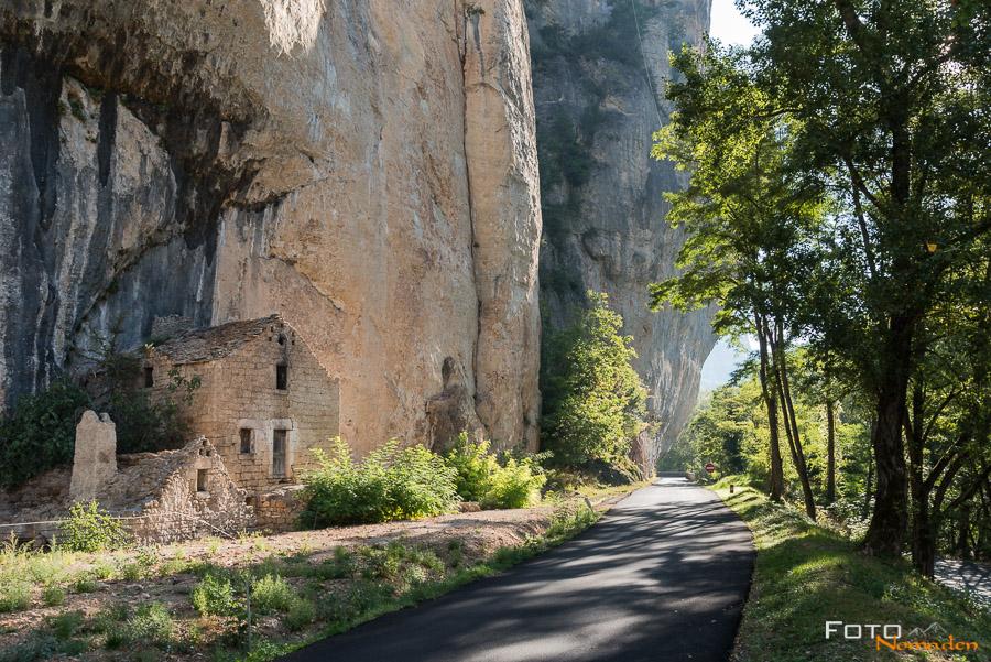 Fotonomaden Ardèche Reiseroute Tarnschlucht