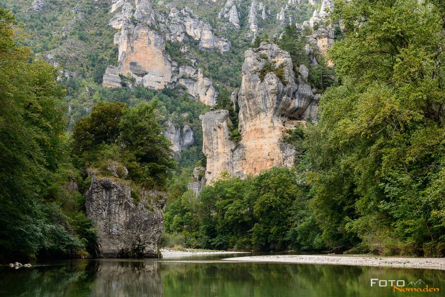 Fotonomaden Ardèche Reiseroute Gorges du Tarn