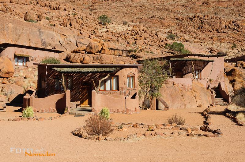 Fotonomaden Namibia Reiseroute Koiimasis Bungalows