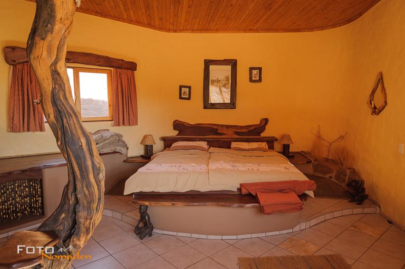 Fotonomaden Namibia Reiseroute Koiimasis Bungalow innen
