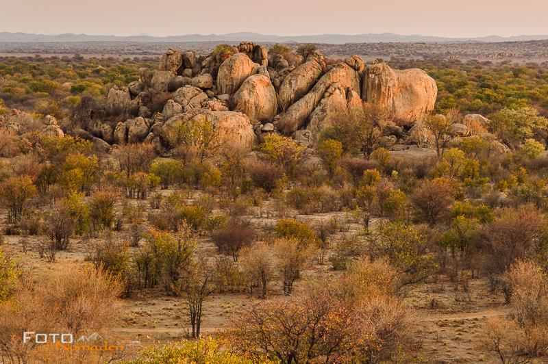 fotonomaden namibia rundreise otjikandero abendstimmung