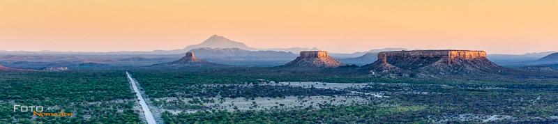 fotonomaden namibia rundreise ugab sonnenuntergang