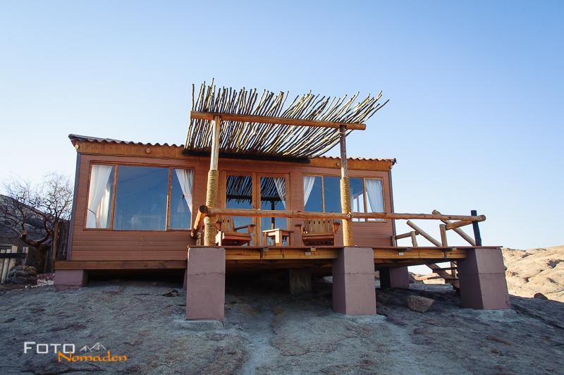 Fotonomaden Namibia Reiseroute Bungalow Wüstenquell