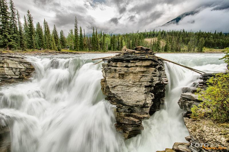 Fotonomaden Foto-Locations West-Kanada Athabasca Falls