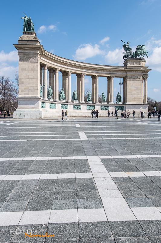 Budapest Fotorafie Tipps Fotonomaden Heldenplatz