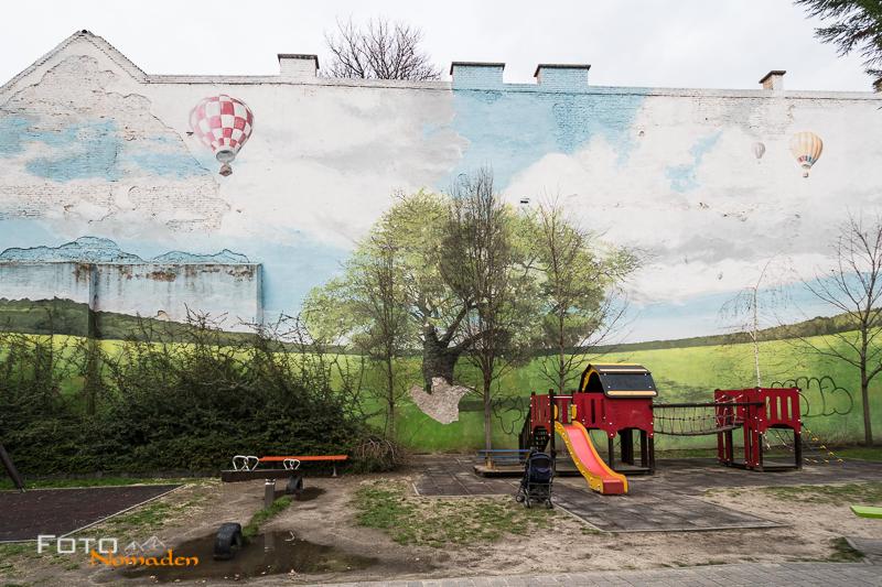 Budapest Fotografie Tipps Fotonomaden Street Art Spielplatz